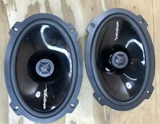 New listing Pair of Rockford Fosgate 6x9 Punch 300W 4 Ohm 2-Way Car Speakers P1692