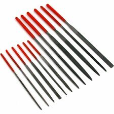 Needle Files Set Wire Wrapping Beading Filing Metalworking Jewelers Tools 12Pcs