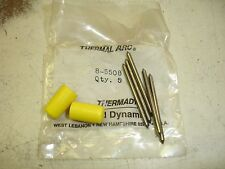 (5) Thermal Dynamics 8-5508 $96 Plasma Electrode PCH-50 Tungsten Clear Bag