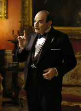 PHOTO HERCULE POIROT – DAVID SUCHET - 11X15 CM  # 3
