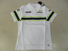 0667 LOTTO POLO UFFICIALE LIQUIGAS TG. S OFFICIAL BIKERS COTTON POLO SHIRT TEE