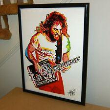 Michael Anthony Van Halen Bass Guitar Hard Rock Metal Art Poster Print 18x24