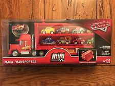 Disney Pixar Cars 3 Mini Racers MACK TRANSPORTER Lightning McQueen 95 In Stock