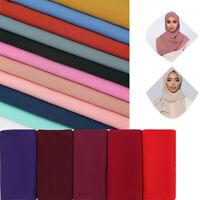 New Long Wrap Scarf Shawl Stole Tassel Women Muslim Pashmina Gifts Islamic Hijab
