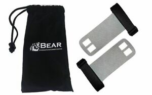 Bear Textured Leather Men's M Gym Hand Grips Pullups, Swings and Crossfit WOD