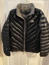 The North Face Womens Large Flight Series 900 Black Goose Down Jacket, Very Good