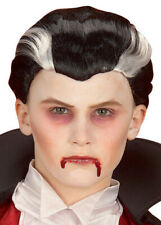 Childrens Halloween Count Dracula Vampire Wig