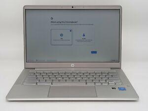 """HP 14A-NA0019TU 14"""" HD Chromebook (64GB)"""