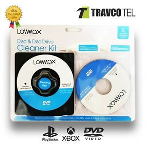 🔥Laser Lens Cleaner Cleaning Kit PS3 XBOX 360 BLU RAY DVD PLAYER CD DISC Car UK