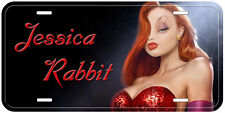 Jessica Rabbit Aluminum Novelty Car License Plate