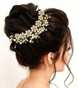 Hair Flare Women's Hair Pins Artificial Flowers Accessories Pearl free ship
