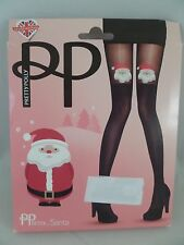 Pretty Polly Santa Tights One Size Fun and Flirty Must See