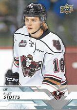 Riley Stotts #47 - 2018-19 CHL - Base - Calgary Hitmen