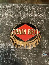 1949 Grain Belt Beer Metal Sign