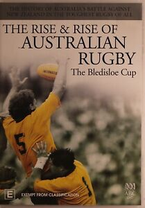 The Rise & Rise Of Australian Rugby DVD - The Bledisloe Cup - Free Post