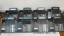 LOT OF 8 - Nortel Meridian NT9K16AC03 M2616 Black Business Phone, no accessories