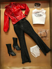 Tonner Emme 'Edgy' Outfit Only shades black red plus size 1 NRFB New wt shipper
