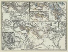 Middle East Asia Europe - Spruner 1865 - 23.00 x 29.75