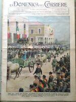 La Domenica del Corriere 11 Marzo 1934 Adrianeo Dive Cinema Coriolano Fascismo