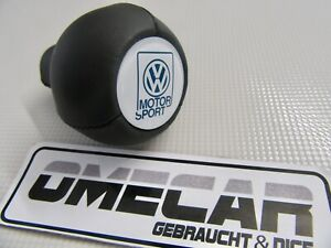 Leder Schaltknauf VW Motorsport Golf 2 ZCP902586 Volkswagen