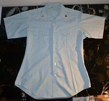 US Army Men's Dress Green Uniform Shirt Short Sleeve 15 1/2 Specialist Insignia