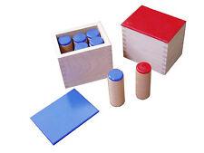 Montessori,  Geräuschdosen, 14-teiliges Set