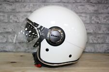 Vespa VJ White Motorcycle Helmet