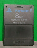 Black OEM Playstation 2 PS2 Free mcboot Memory Card Version 1.953