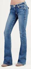 EUC TRUE RELIGION women's JOEY SUPER T LOW rise classic flare jeans US26