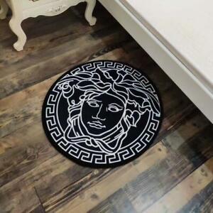 Luxury Home Medusa Carpet Round Rug Diameter 100cm