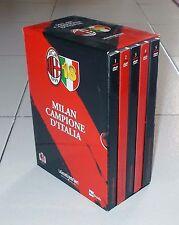 Box 5 Dvd MILAN CAMPIONE D'ITALIA – Scudetto 18 Campionato 2010/2011 Calcio