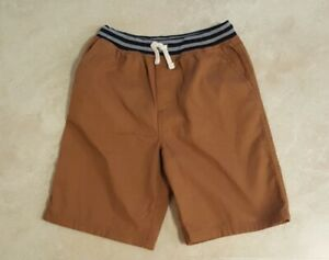 Boys Ribbed Pull On Elastic Waist Shorts: S(8)--M(10-12)--L(14-16)--XL(18-20)