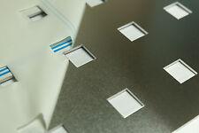 Lochblech zb. Als Geländerfüllung aus 2 mm Aluminium Qg 20-60, 1000x500mm
