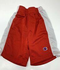 Champion Basketball Shorts Red White Elastic Waist Boys Infant Size 4 Summer