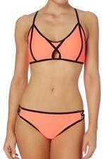 TU Floral Secret Shaping Bikini Top Size 36d & 12 High Waisted Bottoms