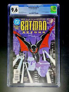 Batman Beyond #1 CGC 9.6 (DC Comics 1999) 1st comic app of Terry McGinnis