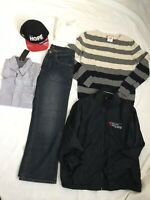 Lot of 6 Items Of Men's Clothes Size S M Sweaters Shirt Joe Fresh Hanes Polo Clu