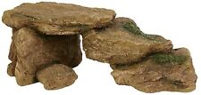 Small Terrapin Rocky Ramp Rock Steps Ornament Aquarium Fish Tank Decoration 8864