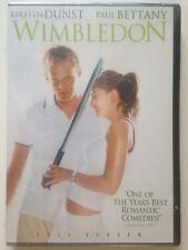 Wimbledon (DVD, 2004, Full Frame)(NEW) Kirsten Dunst, Paul Bettany