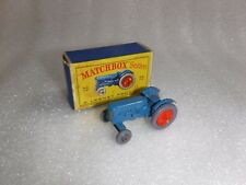 Matchbox Lesney No 72  Fordson Major , Grey Tyres Model Tractor   Boxed