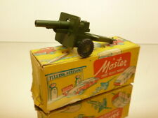 MASTER  25 POUNDER FIELD GUN M10 - ARMY GREEN L10.0cm - GOOD CONDITION IN BOX