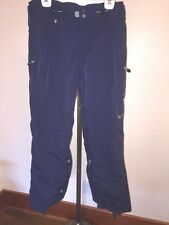 Women's Roxy Endurance Series Navy Blue Vented Snowboard/Ski Pants Size XL