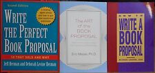How to Create a Book Proposal 3 book lot: Stand Out Get Noticed Get Published
