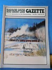 Narrow Gauge & Short Line Gazette 1998 November December RGS Galloping Goose