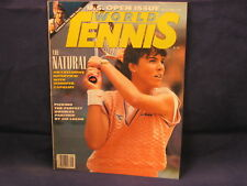 WORLD TENNIS MAGAZINE September 1990 JENNIFER CAPRIATI JIMMY CONNORS