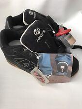 Nwt Heelys Youth 3 Black Roller Sneakers Atomic7145 Bearings