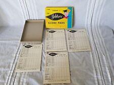 Vintage Yahtzee Score Pads 1956 E. S. Lowe Co. Inc. 4 Pads