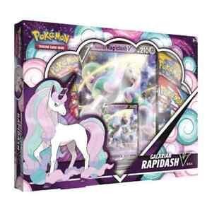 Pokemon TCG Galarian Rapidash V Box | Battle Styles Booster Packs | New & Sealed