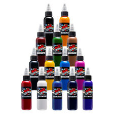 Mom's Inks 14-Bottle Color Set 1 -1oz