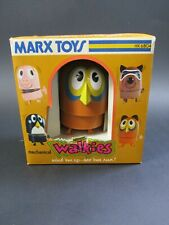 VINTAGE 1974 MARX TOYS HK 6804 MECHANICAL WALKIES OWL WIND-UP TOY W / BOX